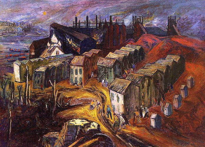 Adolf Gottlieb. City view