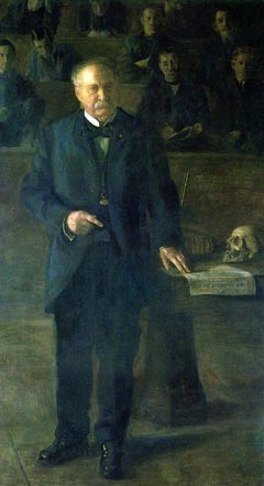 Thomas Eakins. Portrait of Professor William Smith Forbes