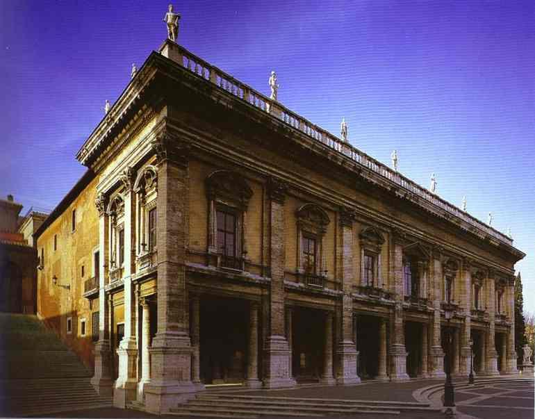 Микеланджело Буонарроти. Фасад
