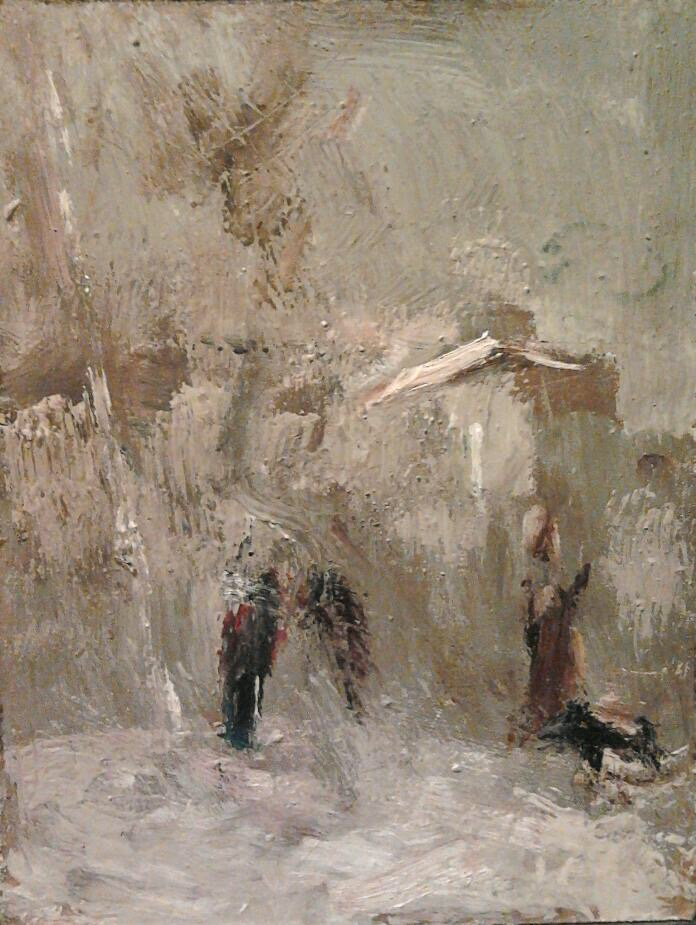 Nikolay Karpetsky. Winter