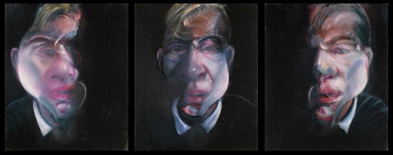 Фрэнсис Бэкон. Триптих Автопортрет
