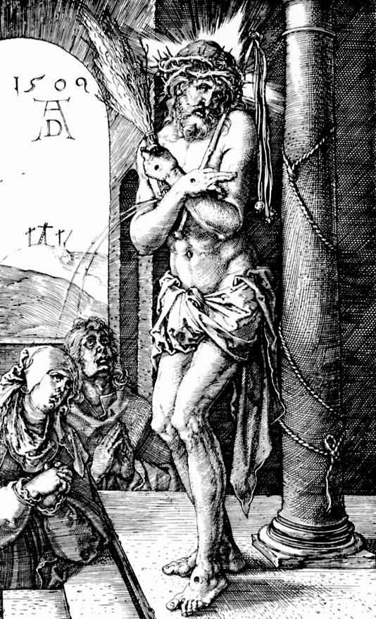 Альбрехт Дюрер. Христос-страстотерпец у колонны