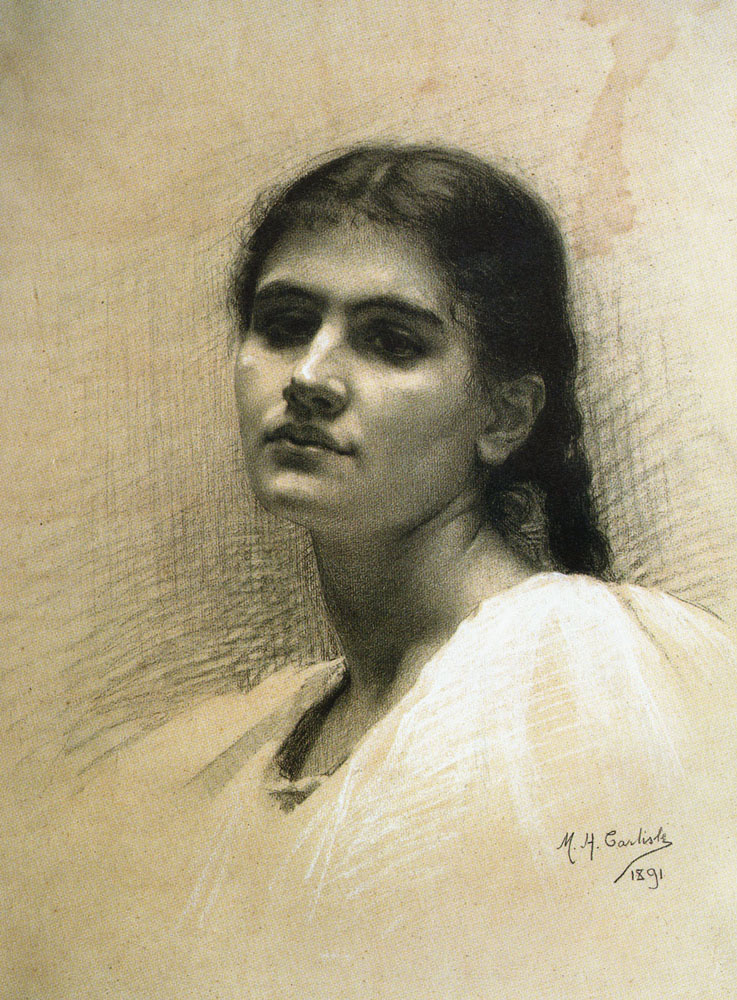 Мария Елена Карлайл. Женский портрет
