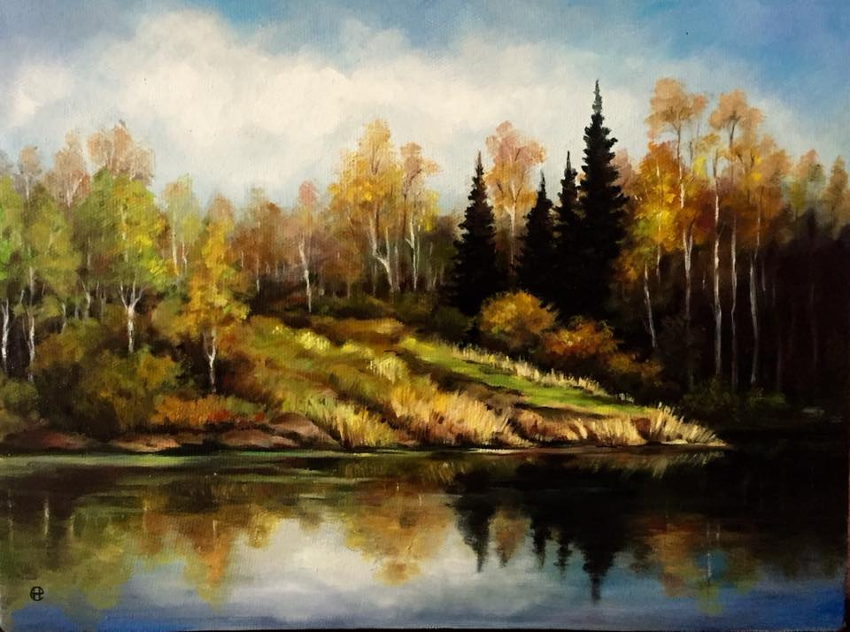 Hope Sosnovikova. Golden autumn
