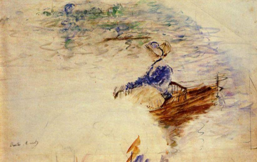 Берта Моризо. Женщина в лодке, Эвентай