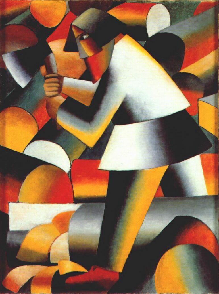 Kazimir Malevich. Cleaver