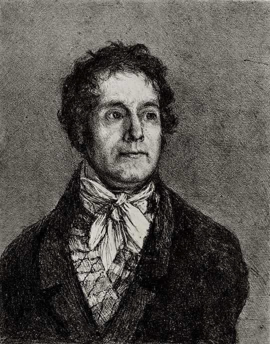 Франсиско Гойя. Портрет издателя Голона