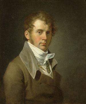 Джон Вандерлин. Портрет мужчины