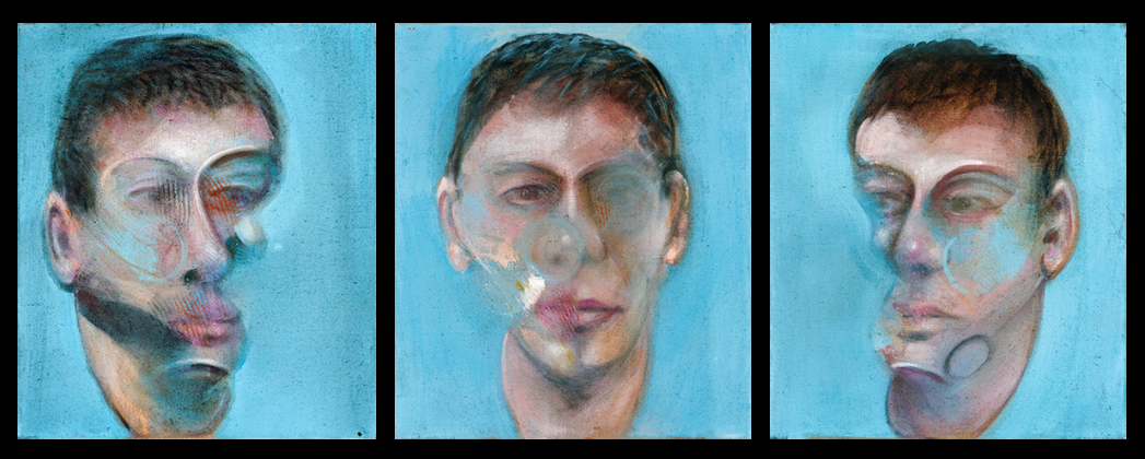 Фрэнсис Бэкон. Три эскиза портрета Джона Эдвардса
