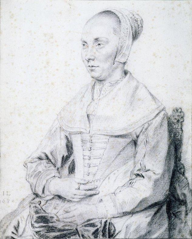 Ян Ливенс. Портрет сидящей женщины