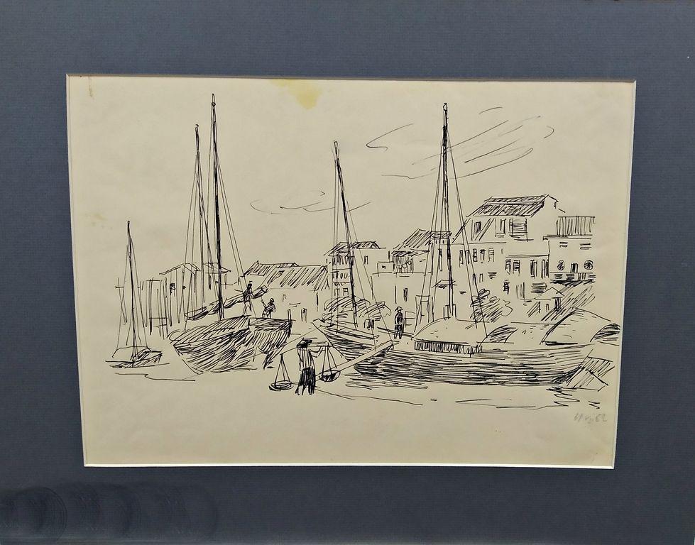 Vasily Nikitovich Zachinaev. The pier