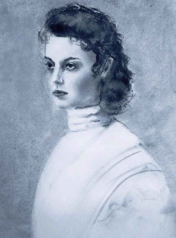 Irina Tabolova. Schoolgirl