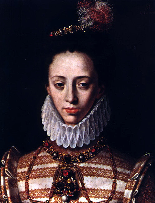 Antoine Karon. Female portrait