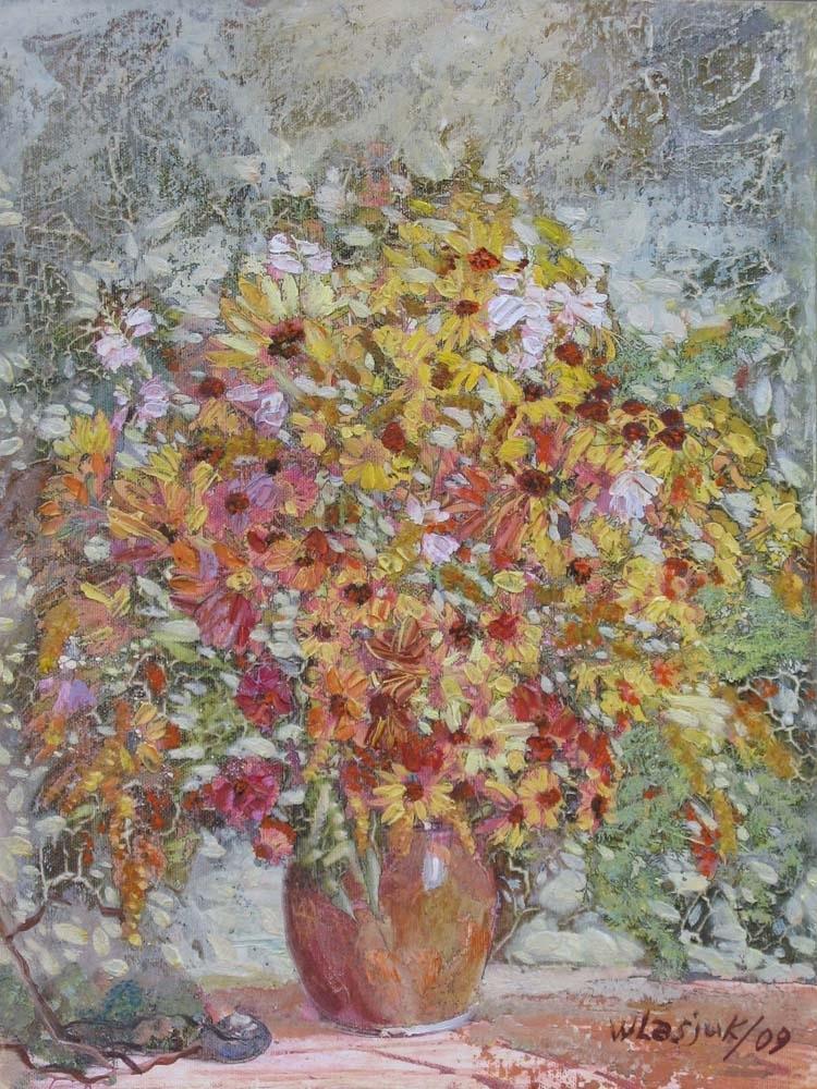 Alexander Ivanovich Vlasyuk. 332-2009...autumn bouquet...