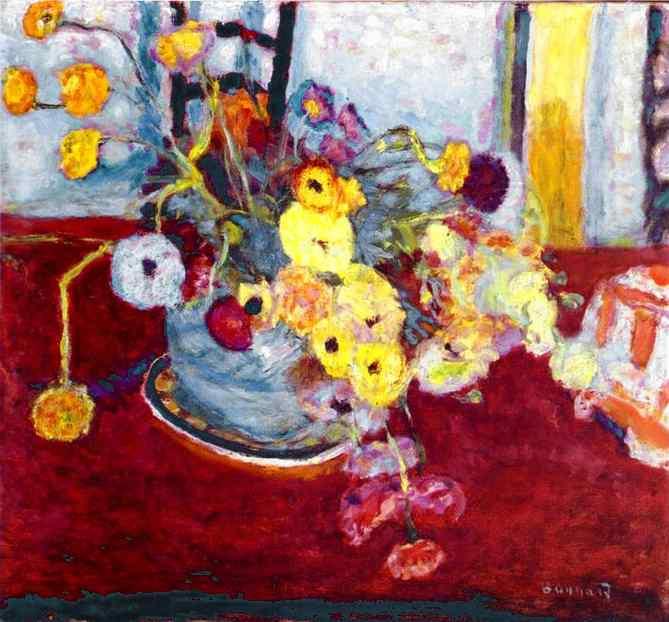 Пьер Боннар. Желтые цветы