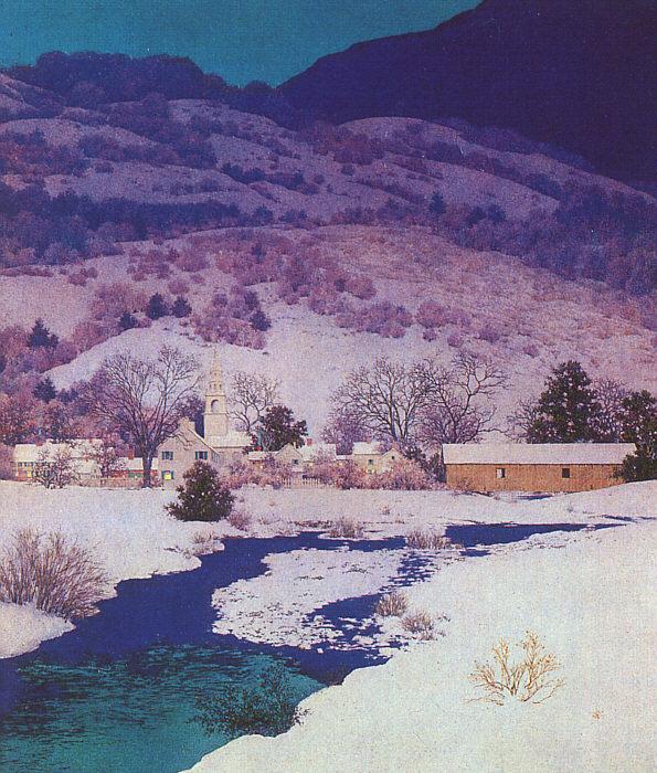 Максфилд Пэрриш. Снег