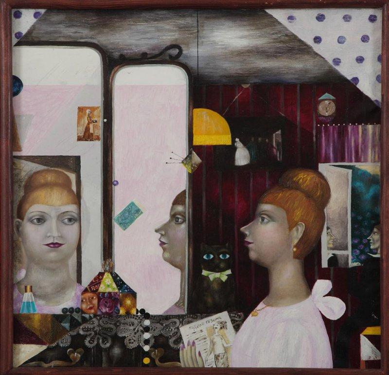 """Анатолий Георгиевич Филимонов. In front of the mirror. From the series """"Philistinism"""""""