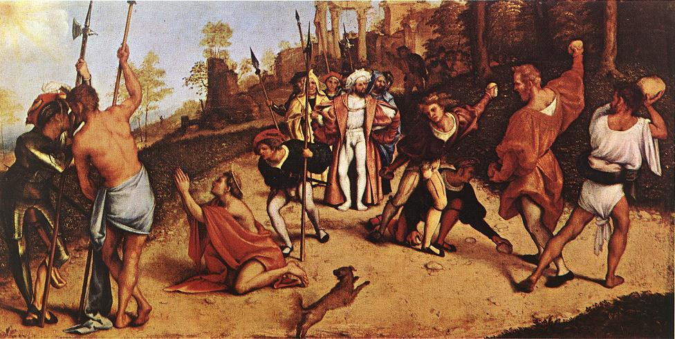 Лоренцо Лотто. Мученичество Святого Стефана