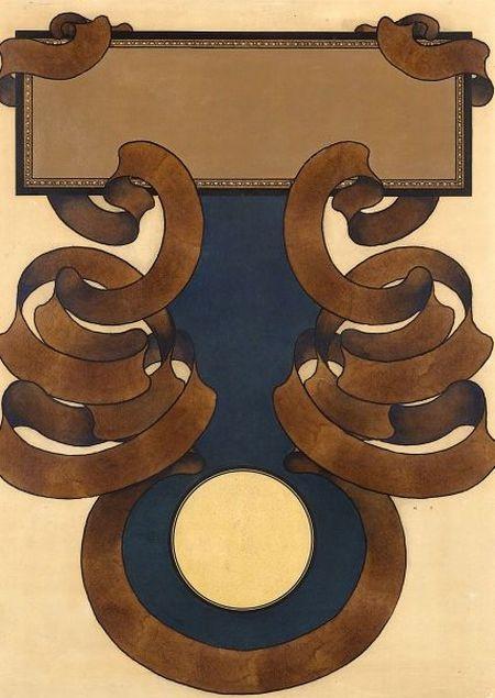 """Максфилд Пэрриш. Дизайн для обложки журнала """"Кольер"""""""