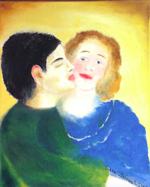Olga Alexandrovna Lobanova. Love
