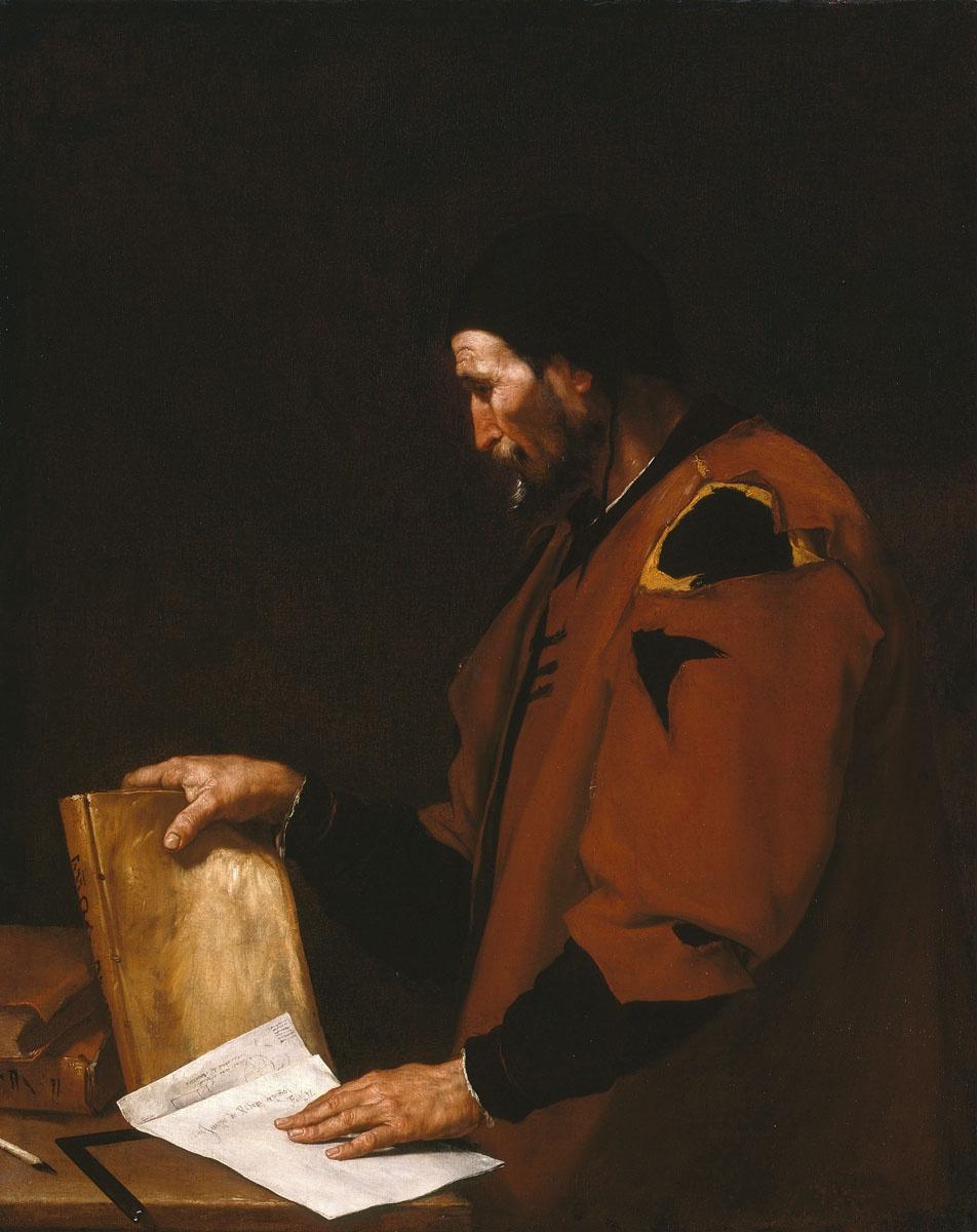 Jose de Ribera. Aristotle