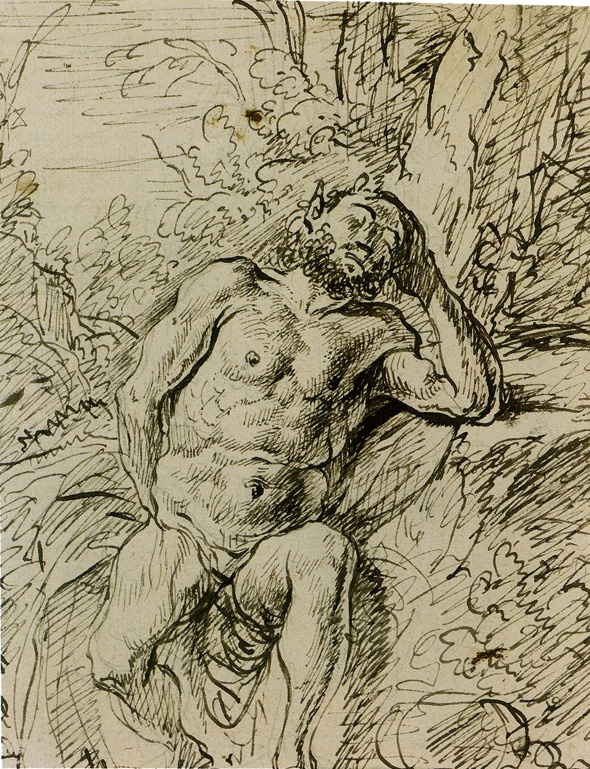 Jan Lievens. Sleeping Satyr
