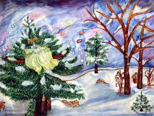 Lia (Elena) Borisovna Kotlyarevskaya. Winter Tale