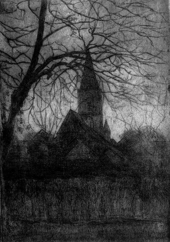 Piet Mondrian. The Church in Winterswijk