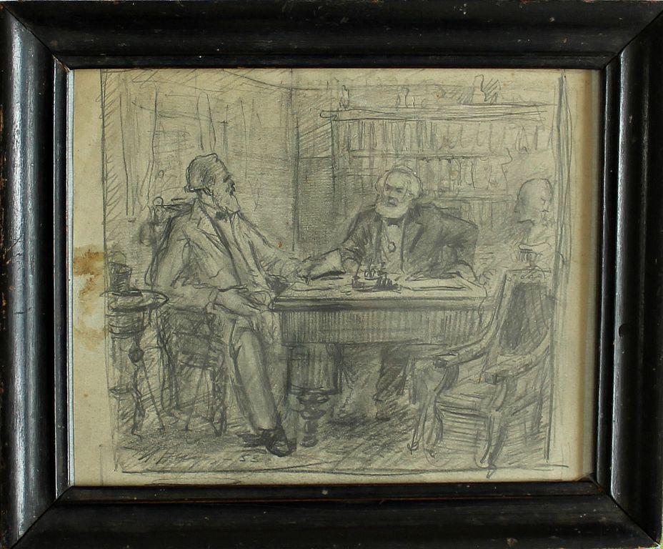Ivan Ivanovich Andreev. Marx and Engels