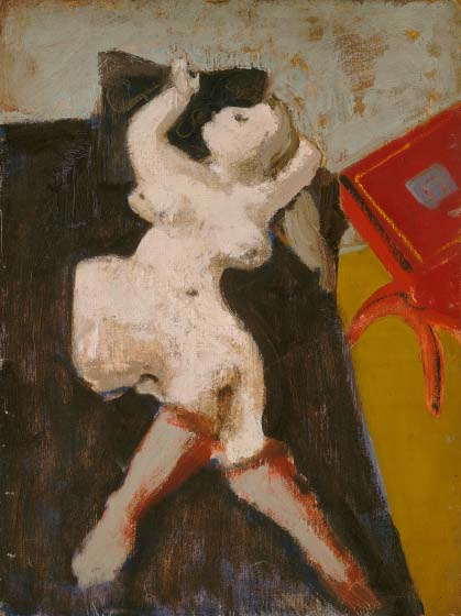 Rothko Mark. Untitled (Reclining Nude)