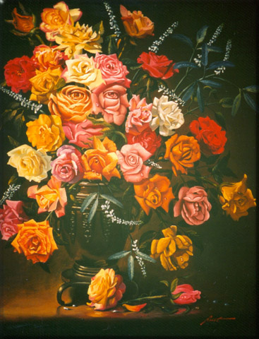 Дональд Руст. Букет цветов