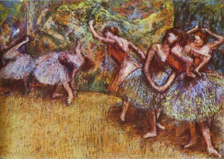 Эдгар Дега. Балетная сцена