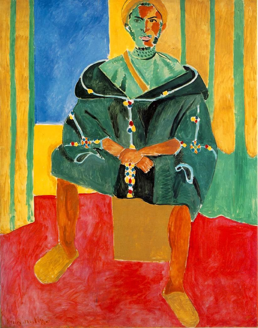 Анри Матисс. Сидящий мужчина