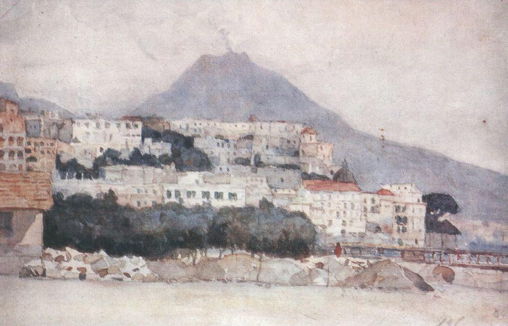 Василий Иванович Суриков. Неаполь