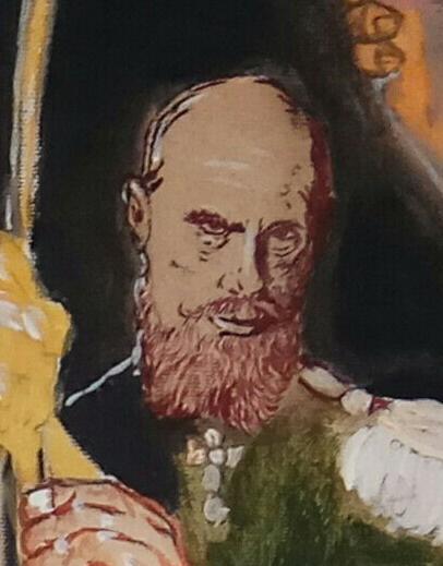 Дмитрий Юрьевич Буянов. Триумф Трампа (фрагмент картины)