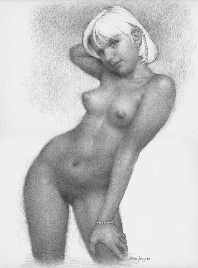 голых баб рисунки