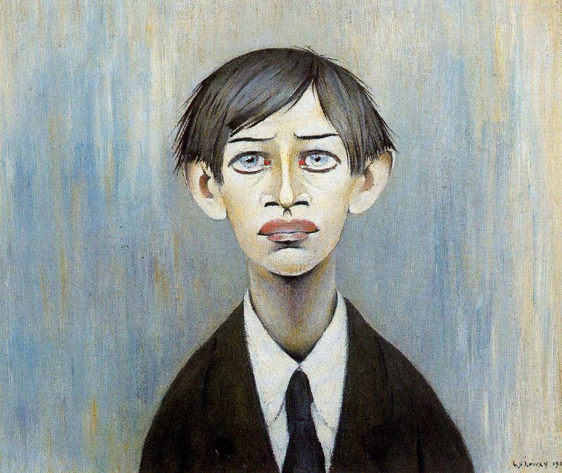 Lawrence Stephen Lowry. Portrait