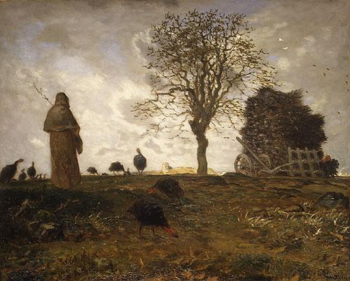 Жан-Франсуа Милле. Осенний пейзаж