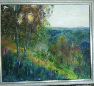 Olga Hermiseeva. Morning in the forest