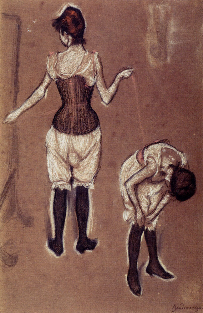Федерико Зандоменеги. Девушки