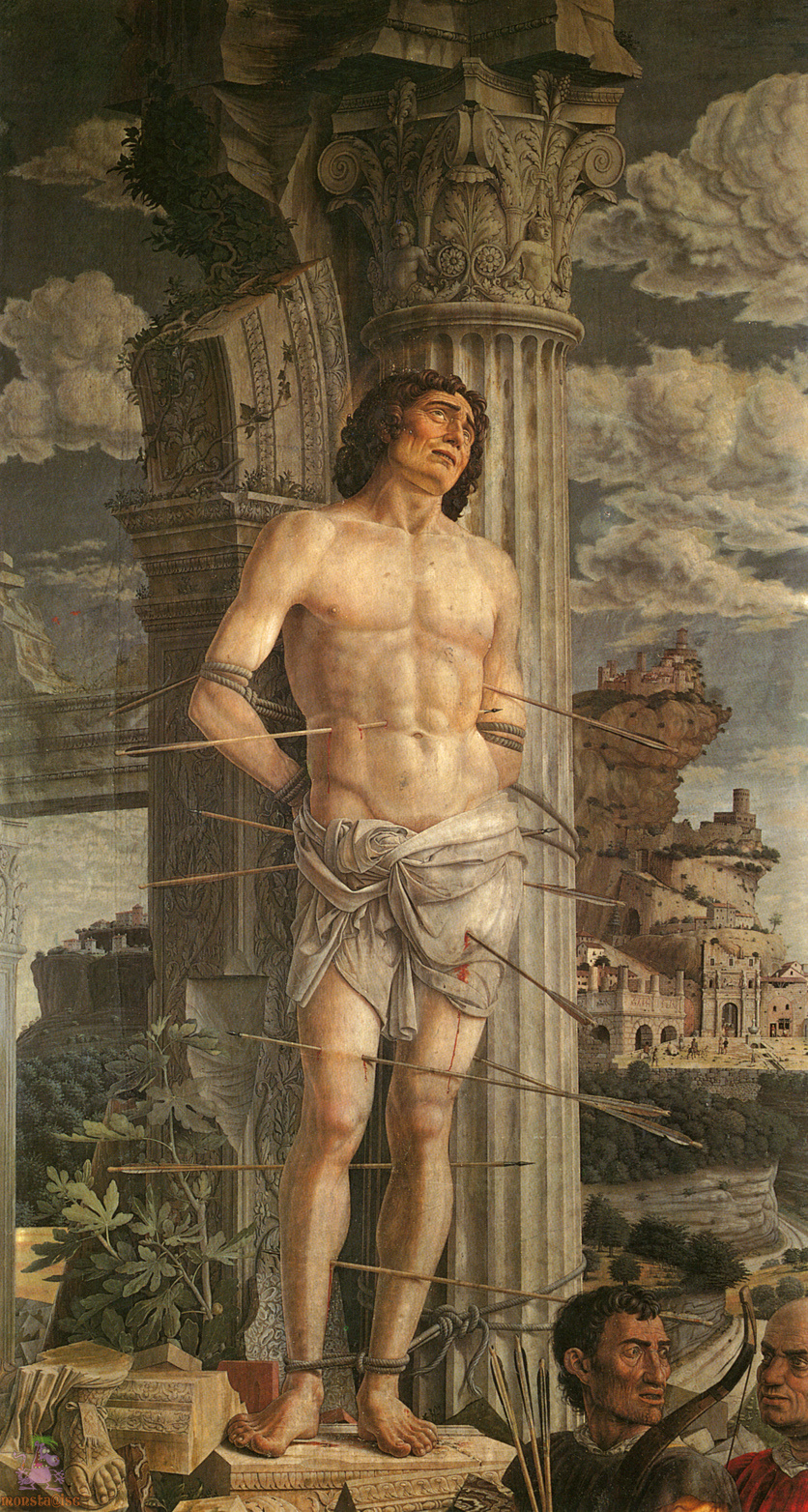 Andrea Mantegna. Saint Sebastian