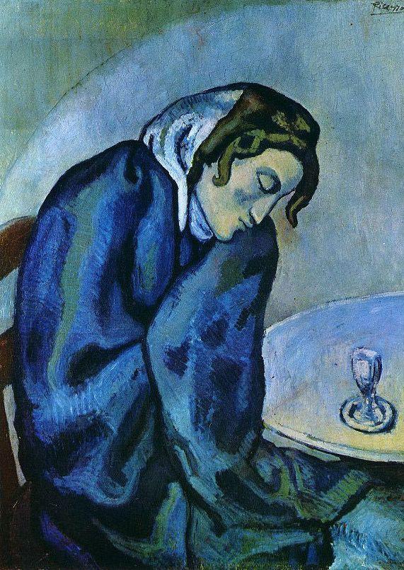 Пабло Пикассо. Спящая пьяница