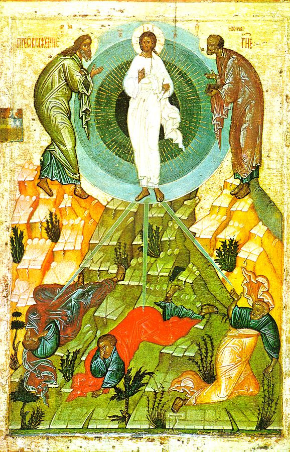 Icon Painting. Ascension