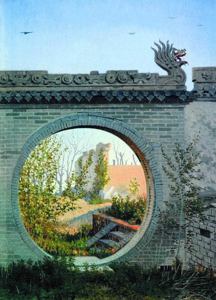 Vasily Vereshchagin. Garden gate in Chuguchak