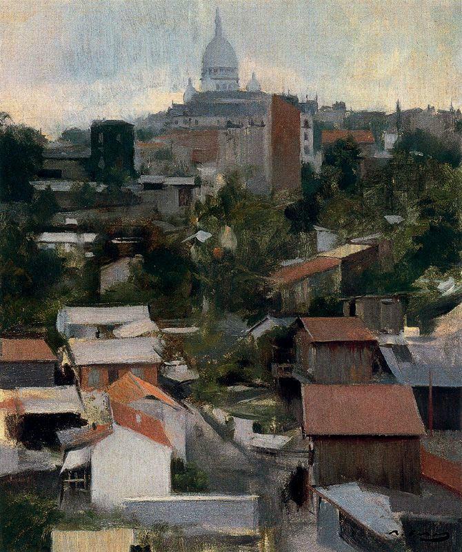 Ramon Casas i Carbó. Sacre Coeur, Montmartre