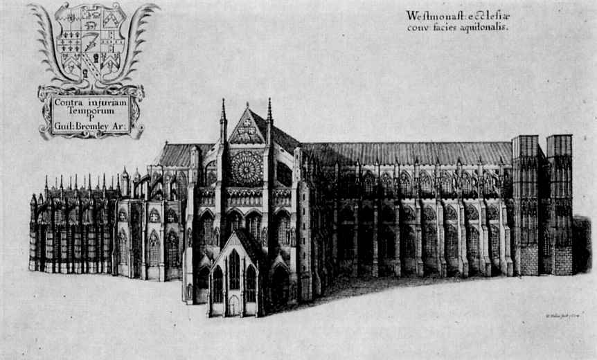 Венцель Холлар. Вестминстерское аббатство