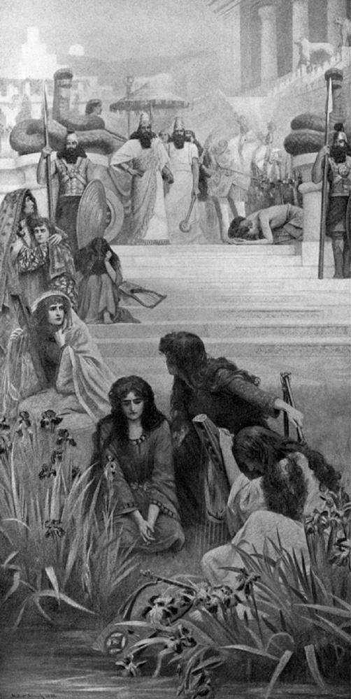 Герберт Гюстав Шмальц. Дочери Иуды в Вавилоне