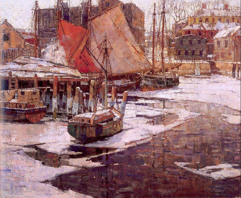 Фредерик Мулхаупт. Лодки