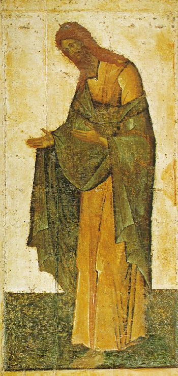 Icon Painting. John The Baptist
