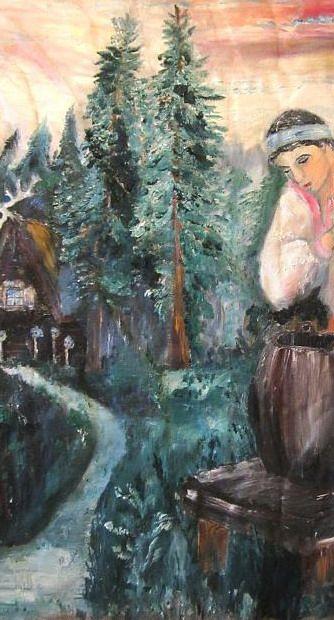 "Дмитрий Юрьевич Буянов. Fragment ""Marya Morevna"""